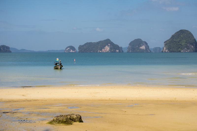 Таиланд, Краби, солнечный пляж